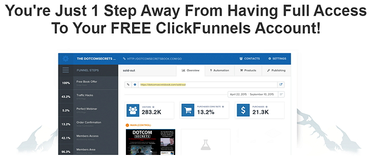 how to get clickfunnels free trial