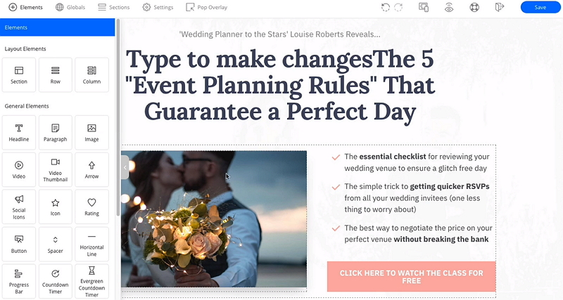 OptimizePress Drag and Drop Page Builder