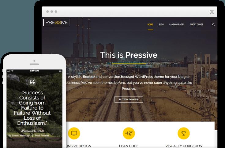 Pressive WordPress Theme