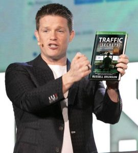 russell brunson traffic secrets author