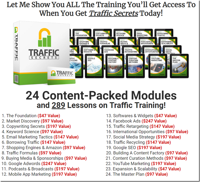 Traffic Secrets Membership
