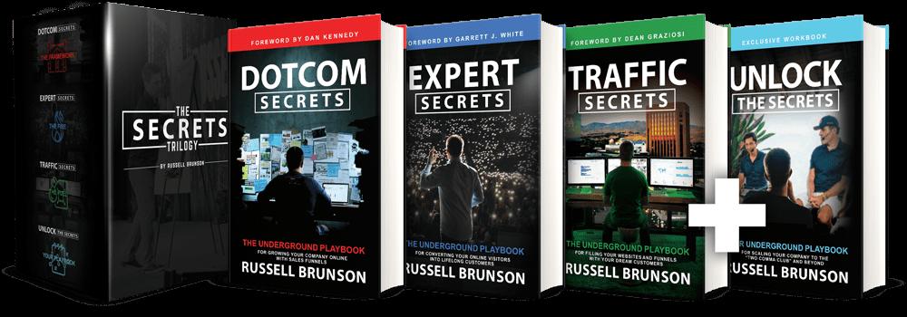 russel brunson's books