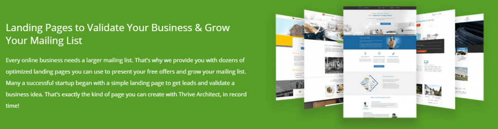 thrive architect mailing lists
