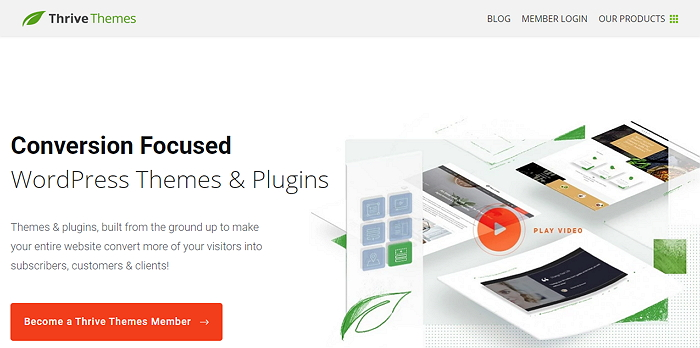 Thrive Themes - LeadPages Alternative