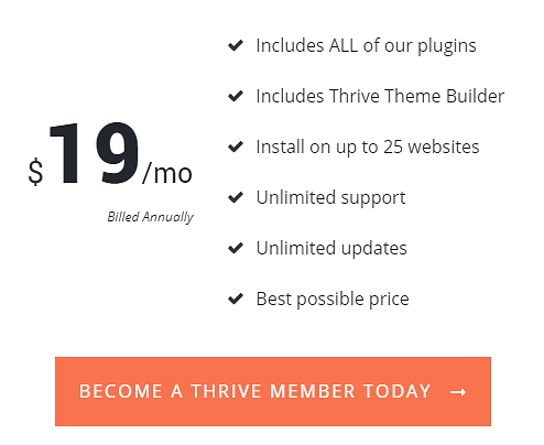 thrive themes special offer