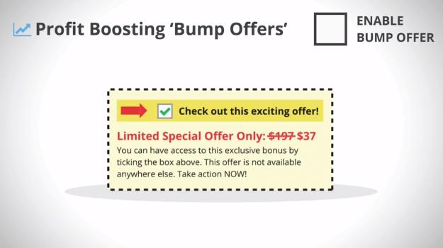 thrivecart bump offers