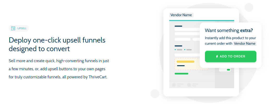 thrivecart upsells