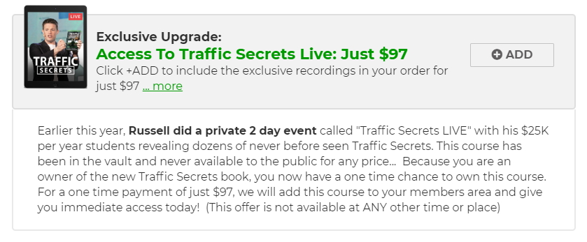 Traffic Secrets Live Event Recordings