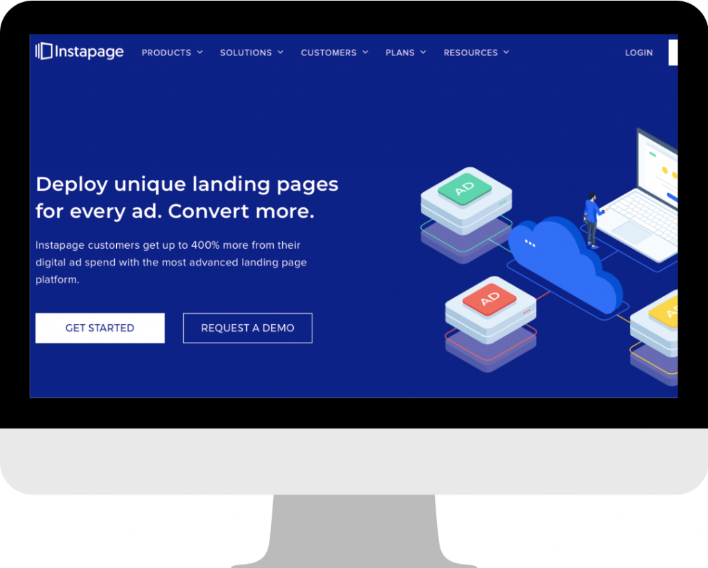 what is instapage