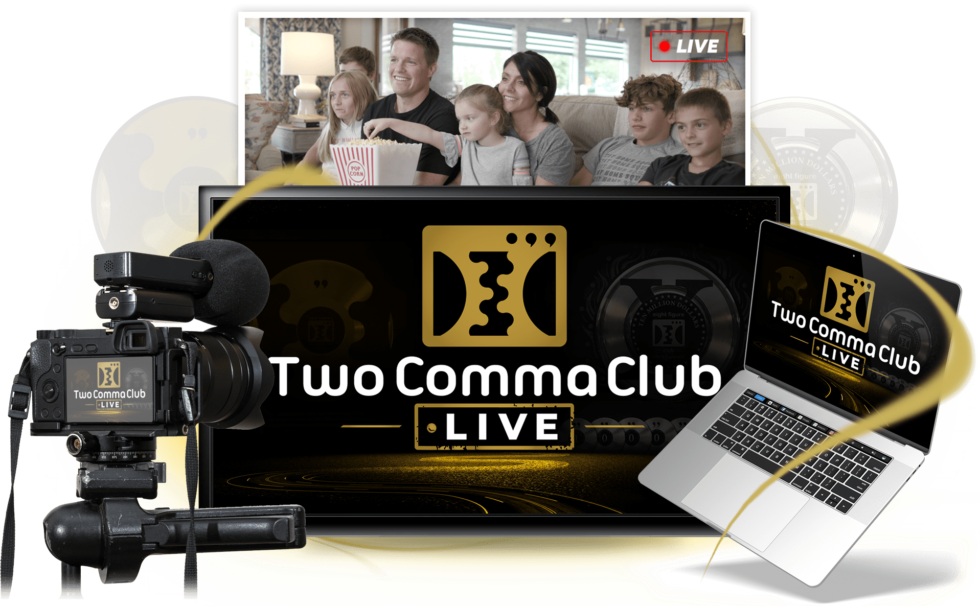 what is two comma club live